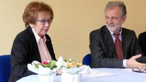 Franca Pirolo (AMO) e Antonio Brambilla (DG Ausl)-2