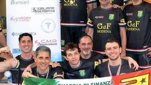 il gruppo sportivo gdf si laurea campione d'italia master di nuoto pinnato -7
