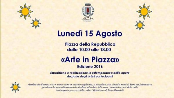 """""""Arte in piazza"""" a Serramazzoni per ricordare Remo Zanerini"""