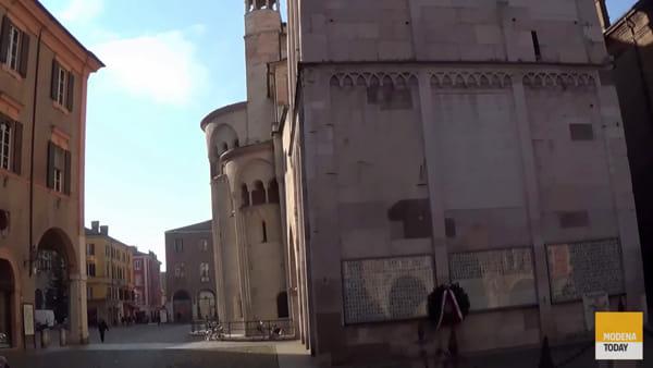 Simboli e storie dell'antico mercato di Modena tra duomo e Bonissima
