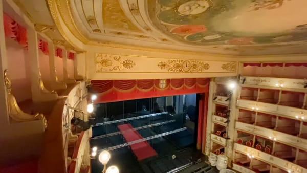 IL VIDEO - Le bellezze del Teatro Comunale: da marzo visite aperte al dietro le quinte