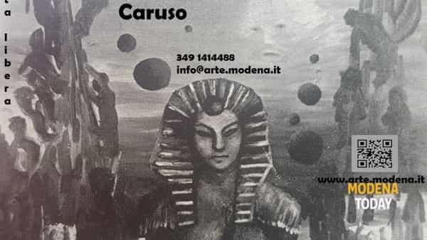 Bottega d'arte, espone Nicola Caruso
