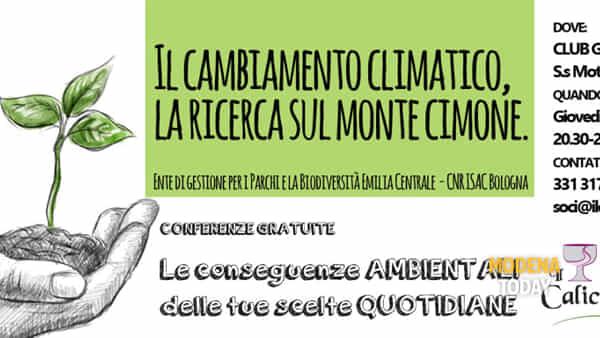 Il cambiamento climatico, la ricerca sul monte Cimone