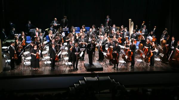 Concerto degli auguri con la Gioventù Musicale d'Italia al teatro Astoria