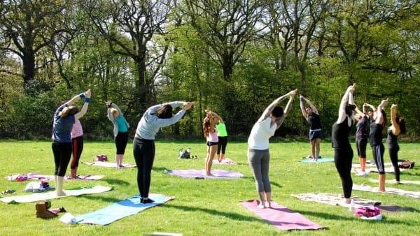 Maranello, dal primo giugno al Parco Ferrari Yoga per tutti