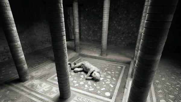 """Requiem for Pompei"", al Mata la mostra fotografica diKenro Izu"