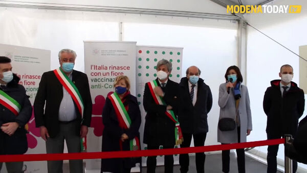 VIDEO | Vaccini anti covid, apre le porte il Diagnostic Center di Fiorano