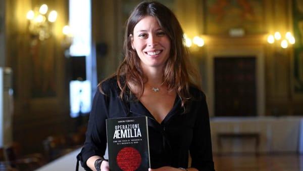 """La 'Ndrangheta in Emilia, Sabrina Pignedoli presenta a Soliera l'inchiesta giornalistica """"Operazione Aemilia"""""""