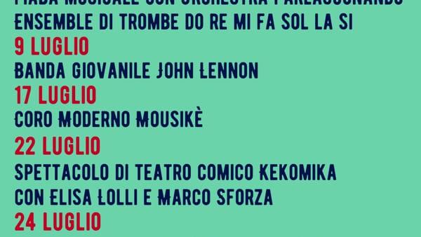 San Possidonio, un'estate all'insegna della musica in Piazza Andreoli