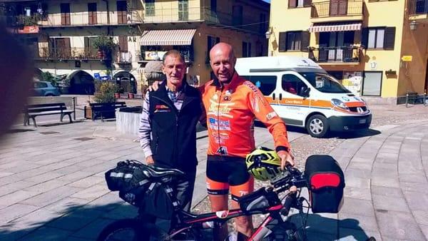 Mirandola, l'ultramaratoneta Marco Olmo tiene un incontro in municipio