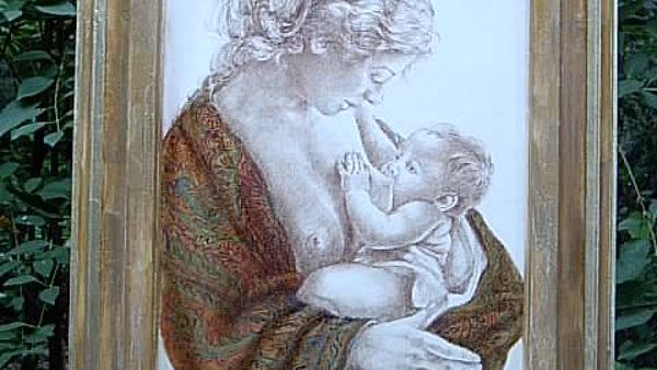 Maria Elisabetta Gnoli espone all'Abbazia di S. Pietro