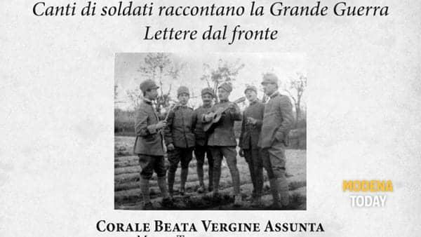 """""""Invece ero di sentinella..."""", lettere e canti a 100 anni dalla Grande Guerra"""
