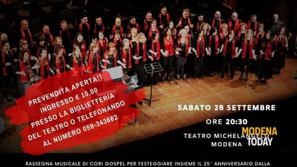 """""""What a wonderful gospel"""", 25 anni di passione e musica al Teatro Michelangelo"""