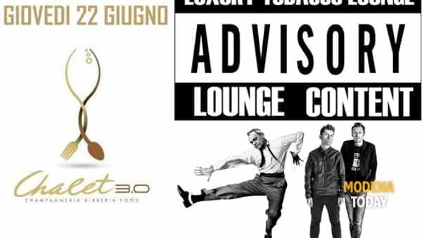 Luxury Tobacco Lounge nel giovedi dello Chalet 3.0 a Carpi