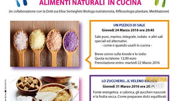 """Novi di Modena, """"I colori del sapore, alimenti naturali in cucina"""""""