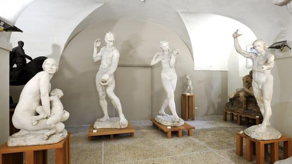 """""""Sentimenti ed emozioni nell'arte di Giuseppe Graziosi"""", una particolare visita guidata gratuita in Gipsoteca"""