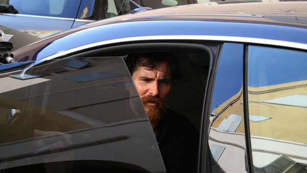 "Christian Bale in città, ""Enzo Ferrari? Incredible man, incredible story"""