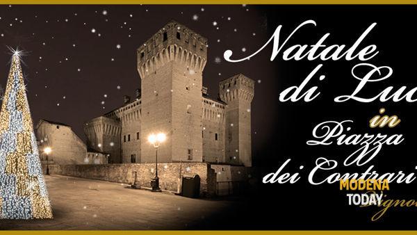 Natale, il centro di Vignola accende le Luci