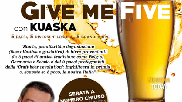 """Give me five"" con Kuaska allo Chalet 3.0 di Carpi"