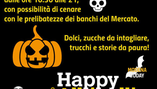 Halloween e le zucche del Mercato Albinelli