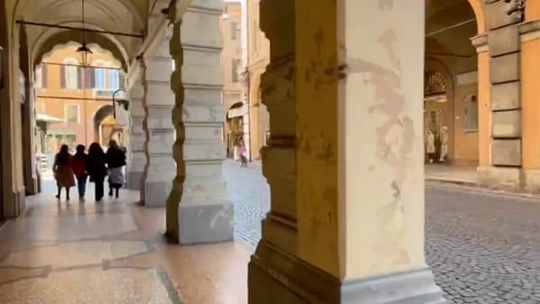 IL VIDEO - Viaggio nel centro storico di Modena