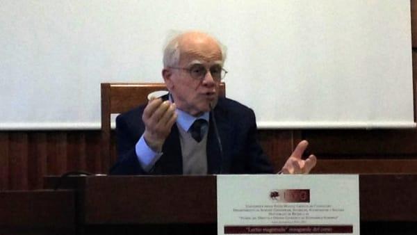 Unimore e seminari interdipartimentali CRISE: ospite il prof. Antonio Padoa Schioppa