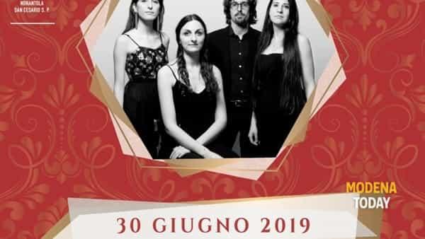 """La grande musica barocca interpretata dal quartetto """"Effimere corde"""" a Villa Sorra"""