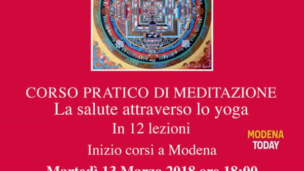 """Corso pratico di meditazione """"fondamenti e tecniche della meditazione"""""""
