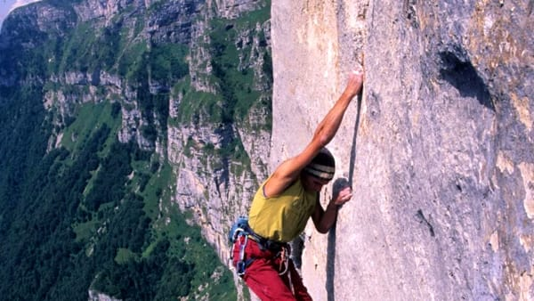 Azione natura:incontro con Manolo,romantico dell'arrampicata sportiva