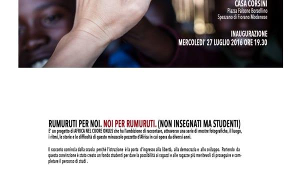 Casa Corsini, inaugura mercoledì la mostra fotografica dedicata all'Africa