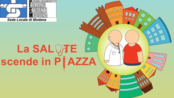 """La """"Salute scende in piazza"""" a Modena per parlare di prevenzione"""