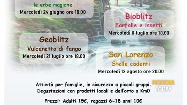 """""""I mercoledì al Vecchio Mulino"""", al via l'iniziativa per famiglie dell'agriturismo di Montefiorino"""