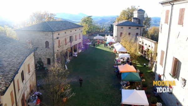 Al castello di Montegibbio la quarta edizione dei Mercatini di Natale