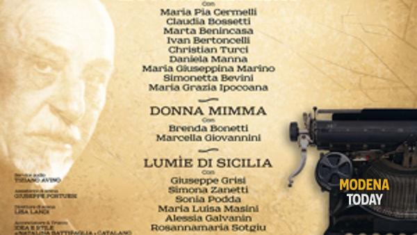 """""""Atti Unici"""", Andrea Ferrari riporta in scena Pirandello"""