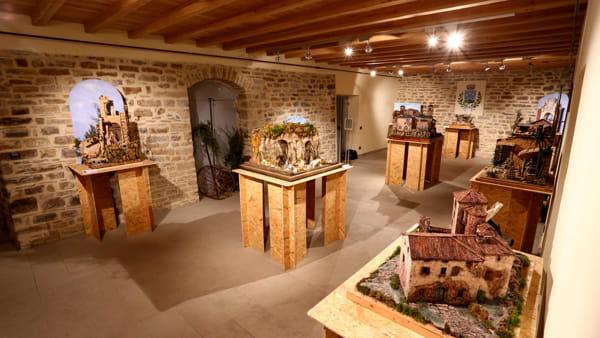 Presepi d'autore in mostra alla rocca di Montefiorino