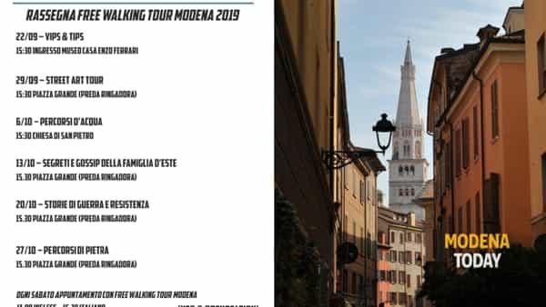 Dalla street art alle celebrità modenesi, arriva la rassegna autunnale di Free Walking Tour