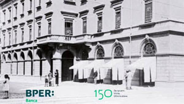 """150 anni di valori"" , la storia di Bper Banca in mostra"