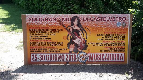 Una settimana intera di festa a Solignano Nuovo, c'è Musicabirra 2018