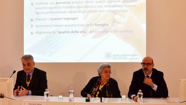 Da sinistra Giancarlo Garuti, Maria Lugli, Massimo Annicchiarico-2