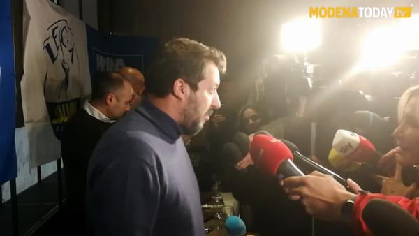"""Salvini lancia la campagna elettorale al 212: """"Cittadini ed imprenditori rimasti inascoltati"""""""
