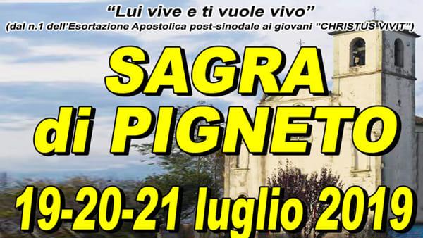 Sagra di Pigneto 2019, tre giorni di festa