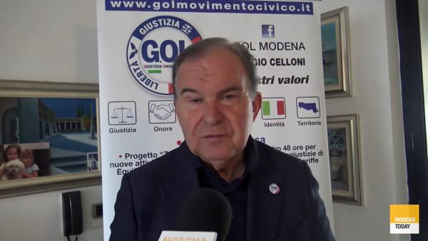 """Celloni candidato sindaco a Modena per G.O.L. : """"Siamo l'alternativa"""""""