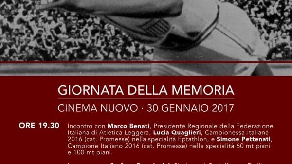 """Castelfranco Emilia, per la Giornata della Memoria verrà proiettato il film """"RACE - il colore della vittoria"""""""