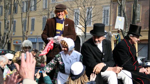 Ad Albareto il tradizionale Carnevale con la Famiglia Pavironica