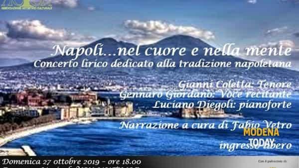 """""""Napoli...nel cuore e nella mente"""", concerto al Salotto Agazzotti"""
