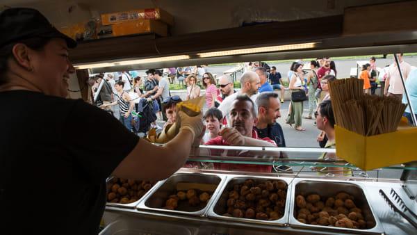 Lo street food torna ad animare il centro di Mirandola