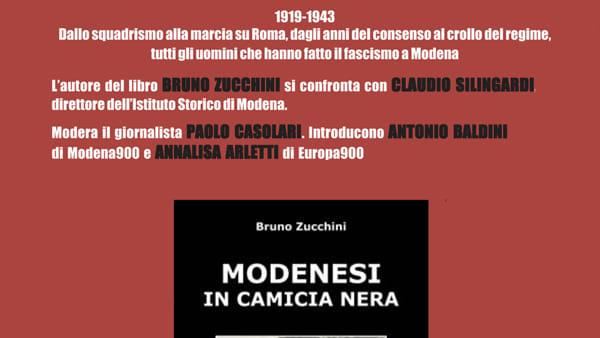"""Storia, presentazione del libro """"Modenesi in camicia nera"""""""