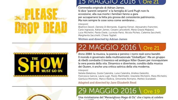 """Modena, 14° edizione del """"Festival del Teatro in Lingua Inglese"""""""