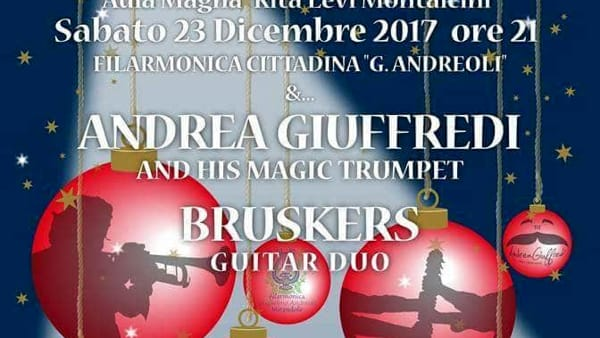 """Concerto di natale con Giuffredi e """"Bruskers Guitar Duo"""""""