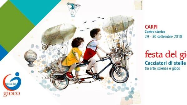 Carpi: torna la Festa del Gioco, arte e scienza a confronto